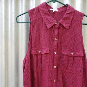 Maurices size 0 sleeveless top